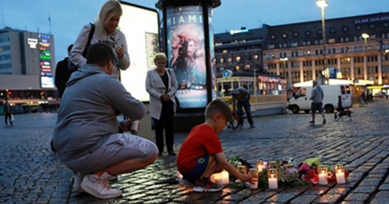 Juncker condemns attacks in Turku