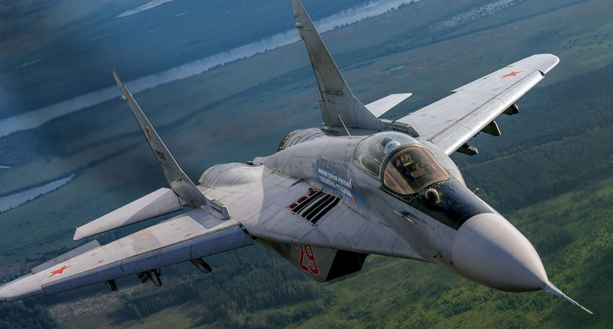 Russia delivers MiG-29 fighters to Serbia