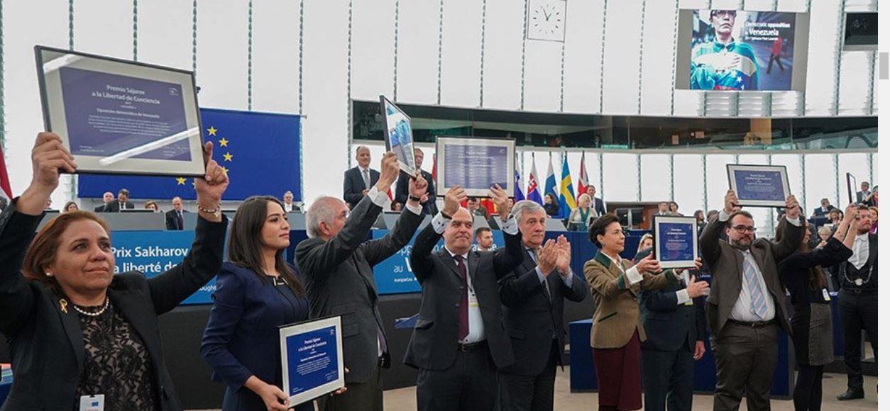 Sakharov Prize 2017 ceremony in Strasbourg