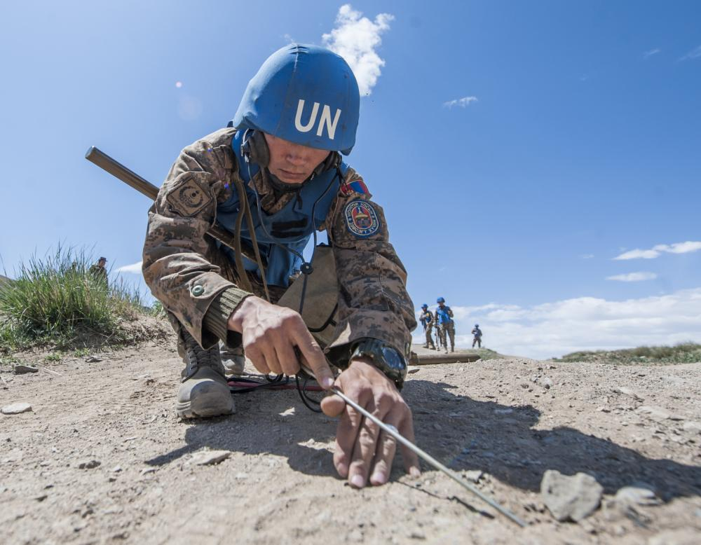 EU help to clear landmines