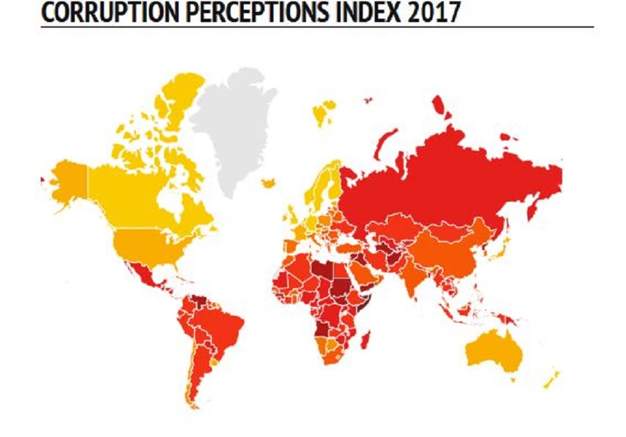 Corruption index 2017: corruption on rise in some EU countries