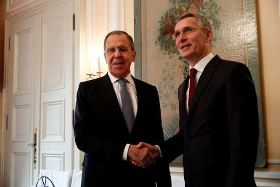 Russian FM, NATO chief discuss European security