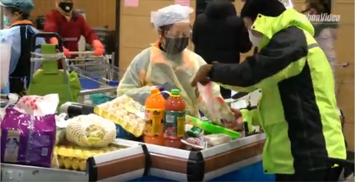 Inside Wuhan: How are daily necessities supplied?
