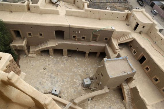 Yemen's historic castle in Saada stands at risk