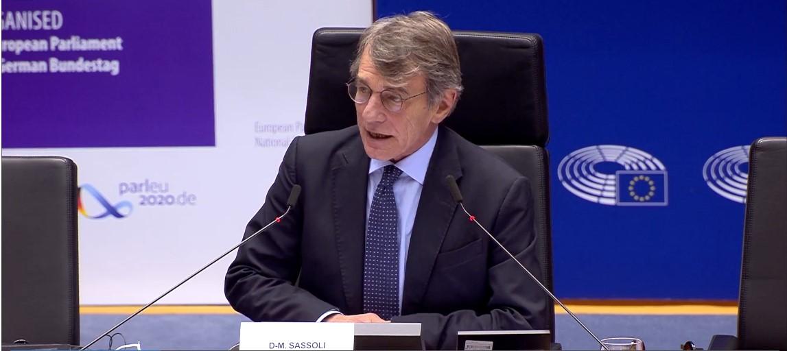 Sassoli: Do not criminalise those saving lives at sea. We need common rules on migration and asylum.